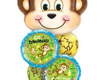 Go Bananas Birthday Balloon Bouquet