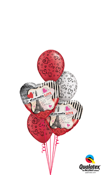 All You Need Is Love Balloon Bouquet