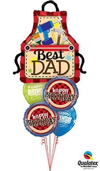 Best-Dad-Balloon Bouquet