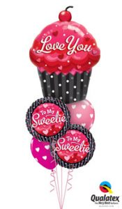 Love You Sweetie Balloon Bouquet