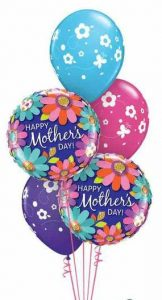 Mothers Day Floral Balloon Bouquet
