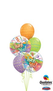 Thankyou Bubbles Balloon Bouquet