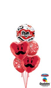 Valentine Love Your Mo Balloon Bouquet