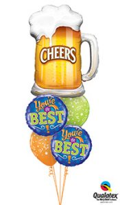 cheers-youre-the-best Balloon Bouquet