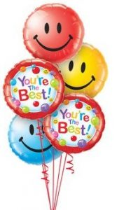 lots & lots of smiles Balloon Bouquet