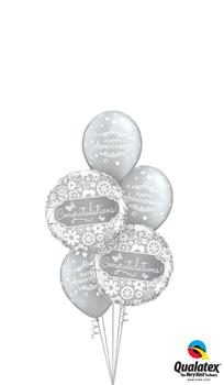 Anniversary Congratulations Balloon Bouquet