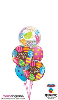Easter Bubble Balloon Bouquet