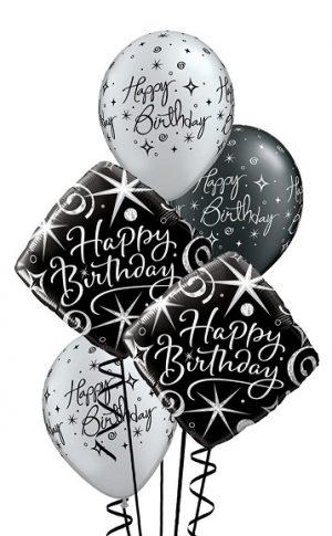 Elegant Birthday Balloon Bouquet