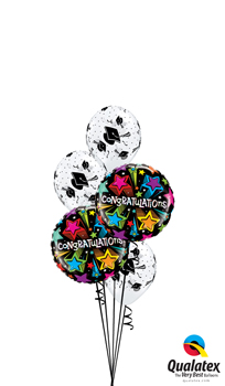 Graduation Congratulations Balloon Bouquet