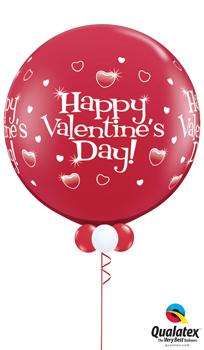 Jumbo Valentine Balloon Bouquet