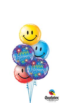 Retirement Smiles Balloon Bouquet