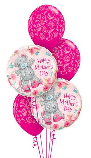Tatty Teddy Mothers Day Wishes Balloon Bouquet