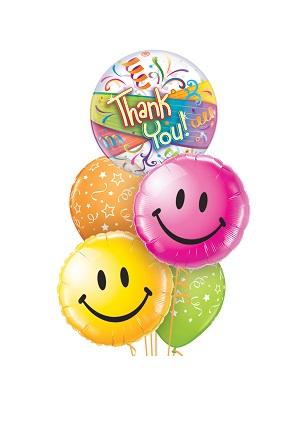 Thank you Smiles Balloon Bouquet