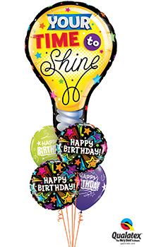 Your-Time-To-Shine Balloon Bouquet