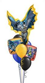 batman bunch Balloon Bouquet