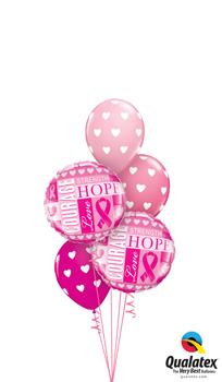cancer inspiration Balloon Bouquet