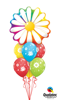 delightful daisy Balloon Bouquet