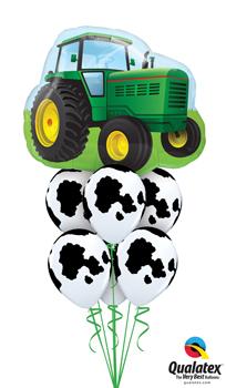 farm tractor Balloon Bouquet