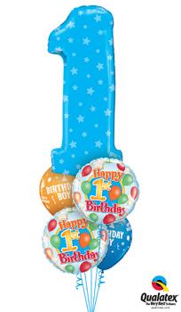 Birthday Age/Milestone Balloon Bouquets