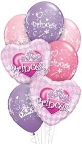pretty princess Balloon Bouquet