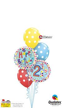 rachel ellen - 21st birthday Balloon Bouquet