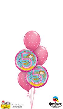 rachel ellen - 5th birthday mermaid Balloon Bouquet