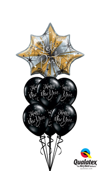 New Years Eve Balloon Bouquets