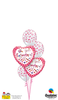 Engagement Balloon Bouquets
