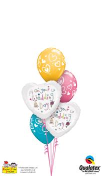 Wedding Balloon Bouquets