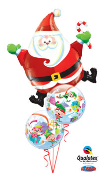 Christmas Balloon Bouquets